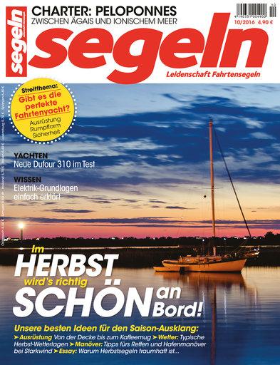 Titel: segeln 10/2016