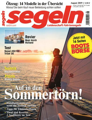 Titel: segeln 08/2019