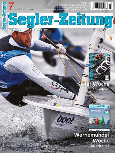 Titel: Segler-Zeitung 07/2018