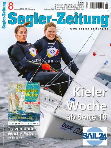 Titel: Segler-Zeitung 08/2018
