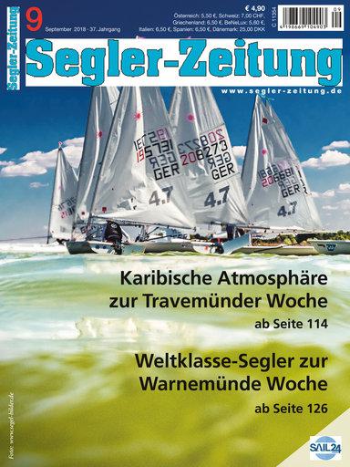 Titel: Segler-Zeitung 09/2018
