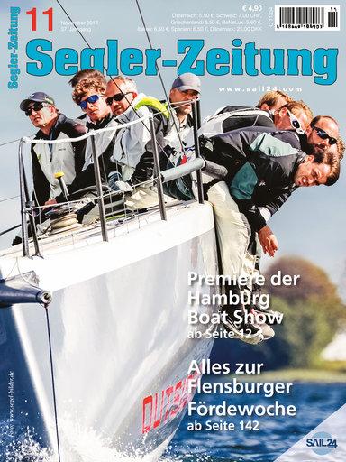 Titel: Segler-Zeitung 11/2018
