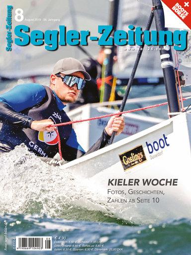 Titel: Segler-Zeitung 08/2019