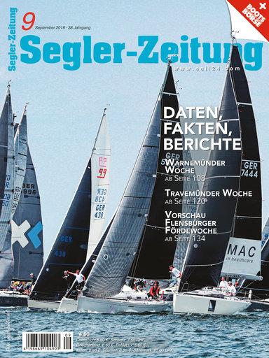 Titel: Segler-Zeitung 09/2019