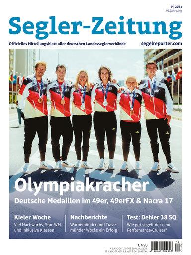 Titel: Segler-Zeitung 09/2021