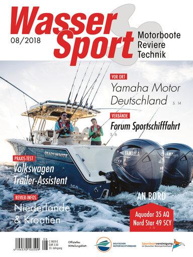 Titel: WasserSport 08/2018
