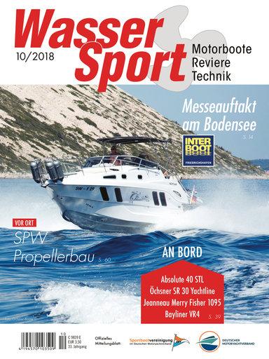 Titel: WasserSport 10/2018