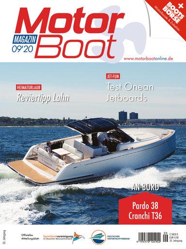 Titel: MotorBoot Magazin 09/2020