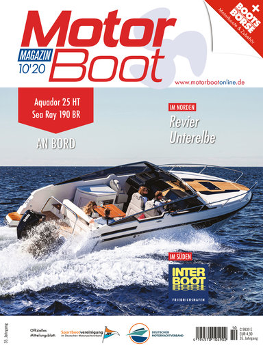 Cover: MotorBoot Magazin