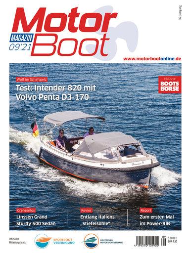Titel: MotorBoot Magazin 09/2021